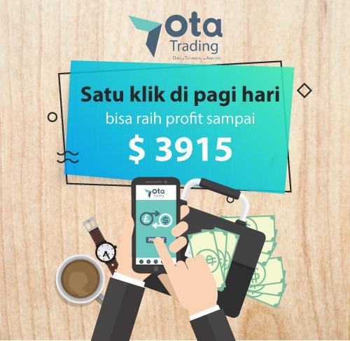 Trading Forex di pagi hari bisa raih profit $3915 dengan OTA Trading | Central Capital Futures